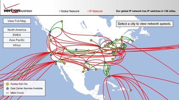 Pointe Web Services Grosse Pointe Website Design Metro Detroit - Verizon network map
